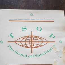 Discos de vinilo: VARIOS. TSOP. THE SOUND OF PHILADELPHIA. DOBLE LP. K-TEL. 1988. Lote 130082442