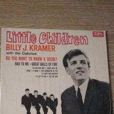 Discos de vinilo: DISCO DE LA BANDA THE ROCK BRITANICA BILLY J. KRAMER WITH THE DAKOTAS. Lote 130091143