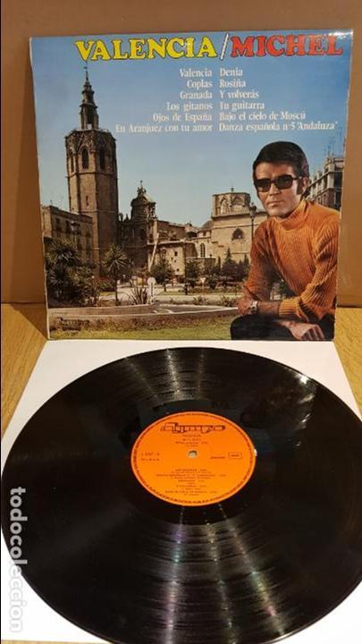 MICHEL / VALENCIA / LP - OLYMPO - 1975 / MUY BUENA CALIDAD./ ***/*** (Música - Discos - LP Vinilo - Flamenco, Canción española y Cuplé)