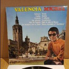 Discos de vinilo: MICHEL / VALENCIA / LP - OLYMPO - 1975 / MUY BUENA CALIDAD./ ***/***. Lote 130091875