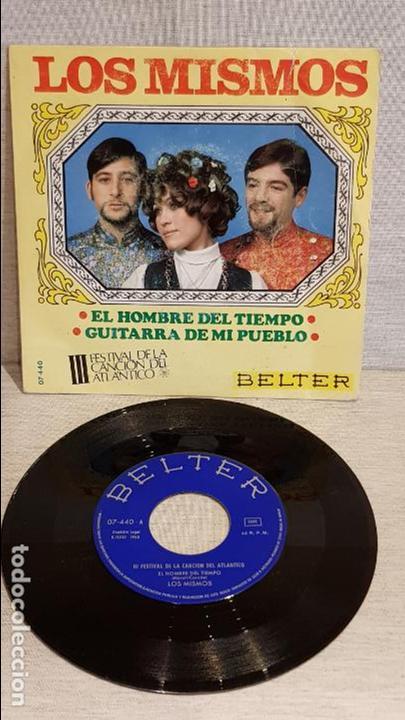 LOS MISMOS / III FESTIVAL DE LA CANCIÓN DEL ATLÁNTICO / SG - BELTER - 1968 / ***/*** (Música - Discos - Singles Vinilo - Otros Festivales de la Canción)