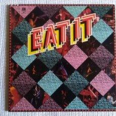 Discos de vinilo: HUMBLE PIE - '' EAT IT '' 2 LP GATEFOLD ORIGINAL SPAIN 1973. Lote 218081880
