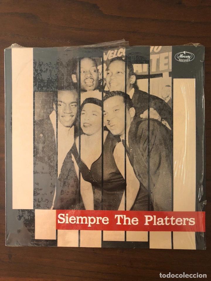 THE PLATTERS ?– SIEMPRE THE PLATTERS - LABEL: MERCURY ?– 424 577-1 FORMAT: VINYL (Música - Discos - LP Vinilo - Rock & Roll)
