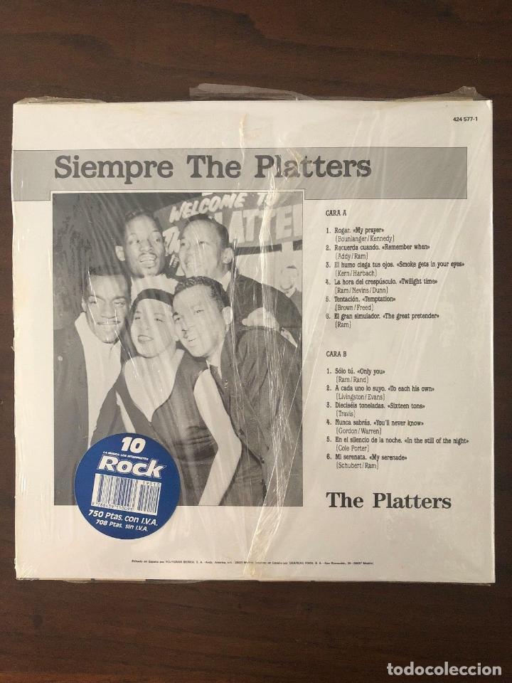 Discos de vinilo: The Platters ?– Siempre The Platters - Label: Mercury ?– 424 577-1 Format: Vinyl - Foto 2 - 130104299