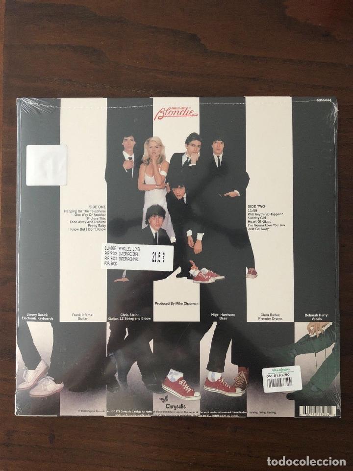Discos de vinilo: Blondie ?– Parallel Lines - Label: Chrysalis ?– 5355034, Chrysalis - Foto 2 - 130105339