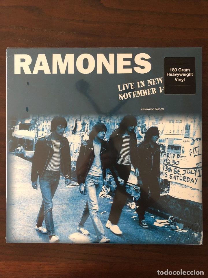 RAMONES ?– LIVE IN NEW YORK NOVEMBER 14TH 1977 LABEL: DOL ?– DOR2127H FORMAT: LP (Música - Discos - LP Vinilo - Rock & Roll)