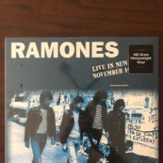 Discos de vinilo: RAMONES ?– LIVE IN NEW YORK NOVEMBER 14TH 1977 LABEL: DOL ?– DOR2127H FORMAT: LP. Lote 130105807