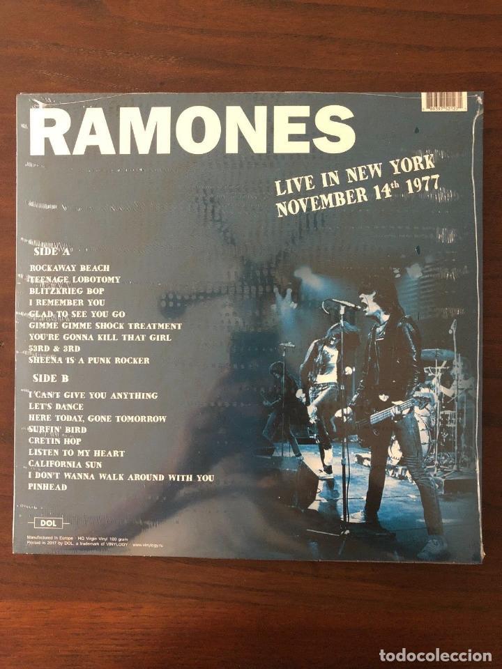 Discos de vinilo: Ramones ?– Live In New York November 14th 1977 Label: DOL ?– DOR2127H Format: Lp - Foto 2 - 130105807