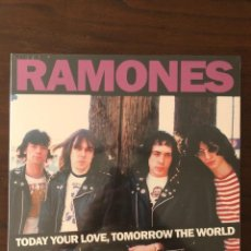 Discos de vinilo: RAMONES ?– TODAY YOUR LOVE, TOMORROW THE WORLD - LIVE AT THE OLD WALDORF. Lote 130105843