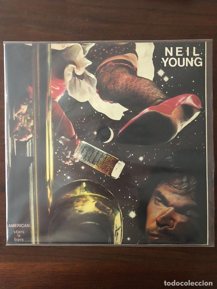 NEIL YOUNG ?– AMERICAN STARS 'N BARS - LABEL: REPRISE RECORDS ?– HRES 291-91 (Música - Discos - LP Vinilo - Rock & Roll)