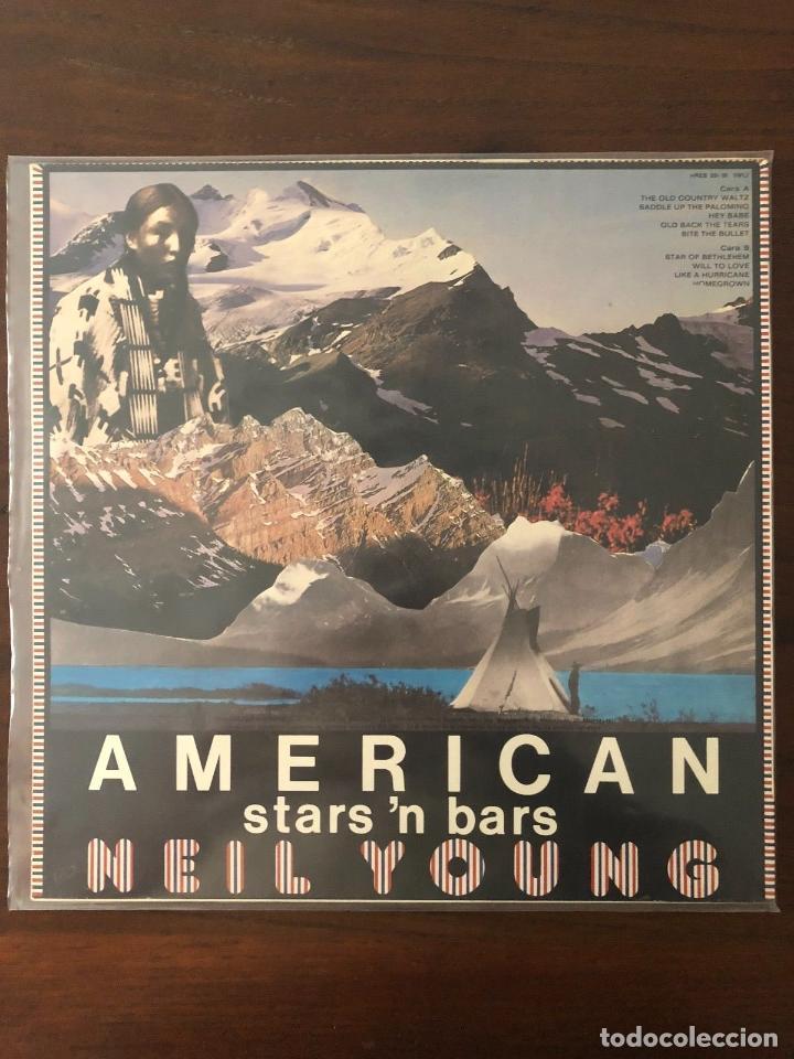 Discos de vinilo: Neil Young ?– American Stars 'N Bars - Label: Reprise Records ?– HRES 291-91 - Foto 2 - 130106487