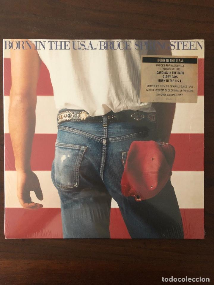 BRUCE SPRINGSTEEN ?– BORN IN THE U.S.A. LABEL: COLUMBIA ?– QC 38653 FORMAT: LP (Música - Discos - LP Vinilo - Rock & Roll)