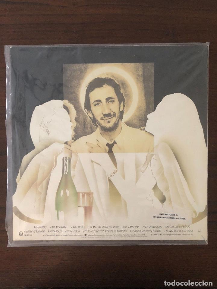 Discos de vinilo: Pete Townshend ?– Empty Glass Label: ATCO Records ?– SD 32-100 Format: Vinyl, LP - Foto 2 - 130107743