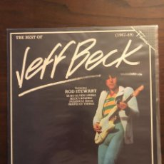 Discos de vinilo: JEFF BECK FEATURING ROD STEWART ?– THE BEST OF JEFF BECK (1967-69) LABEL: RAK. Lote 130108139