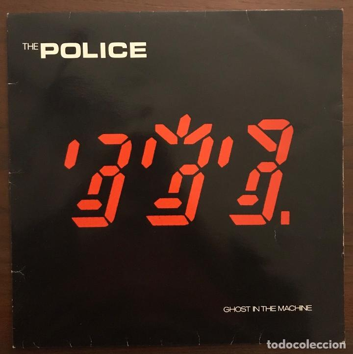 THE POLICE ?– GHOST IN THE MACHINE LABEL: A&M RECORDS ?– 850 393730 1 FORMAT: LP (Música - Discos - LP Vinilo - Rock & Roll)