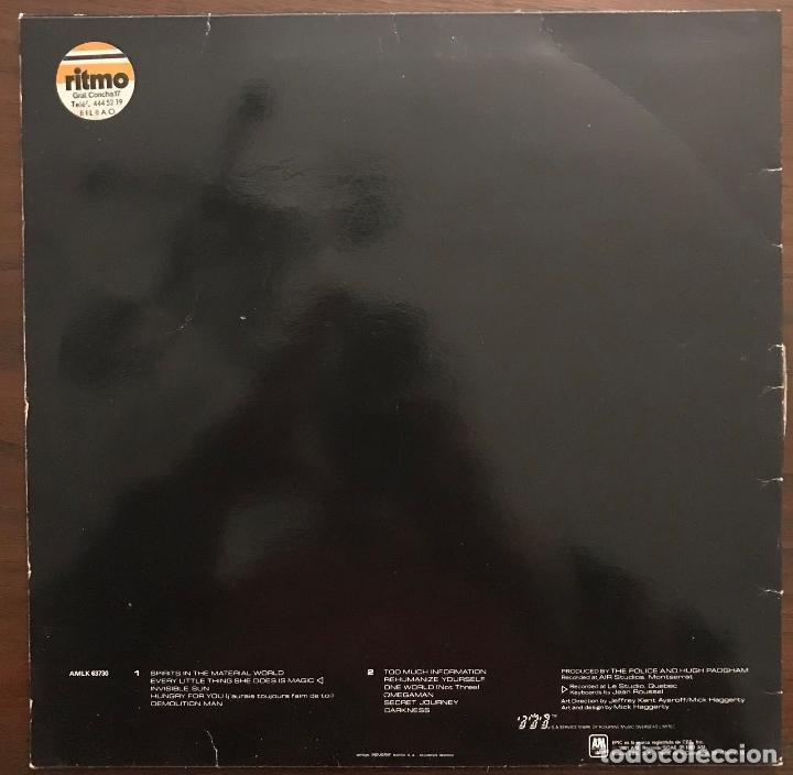 Discos de vinilo: The Police ?– Ghost In The Machine Label: A&M Records ?– 850 393730 1 Format: Lp - Foto 2 - 130108219