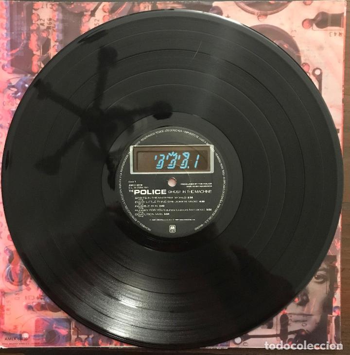 Discos de vinilo: The Police ?– Ghost In The Machine Label: A&M Records ?– 850 393730 1 Format: Lp - Foto 4 - 130108219
