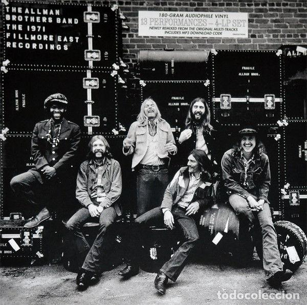 THE ALLMAN BROTHERS BAND ?– THE 1971 FILLMORE EAST RECORDINGS LABEL: MERCURY (Música - Discos - LP Vinilo - Rock & Roll)