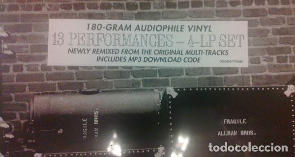 Discos de vinilo: The Allman Brothers Band ?– The 1971 Fillmore East Recordings Label: Mercury - Foto 4 - 130108491