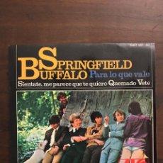 Discos de vinilo: BUFFALO SPRINGFIELD - PARA LO QUE VALE (FOR WHAT IT'S WORTH) HAT 427-03 - 1967. Lote 160970268