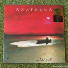 Discos de vinilo: ANATHEMA - A NATURAL DISASTER 12'' LP + CD NUEVO Y PRECINTADO - ROCK ALTERNATIVO ROCK PROGRESIVO. Lote 130116079