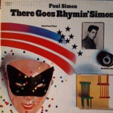Discos de vinilo: PAUL SIMON THERE GOES RHYMIN' SIMON. Lote 130117564