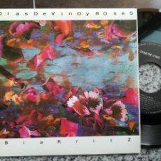 Discos de vinilo - Dias de vino y rosas single biarritz 1991 - 130141931