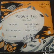 Discos de vinilo: PEGGY LEE ME NECESITA. EP COLUMBIA.. Lote 130163047