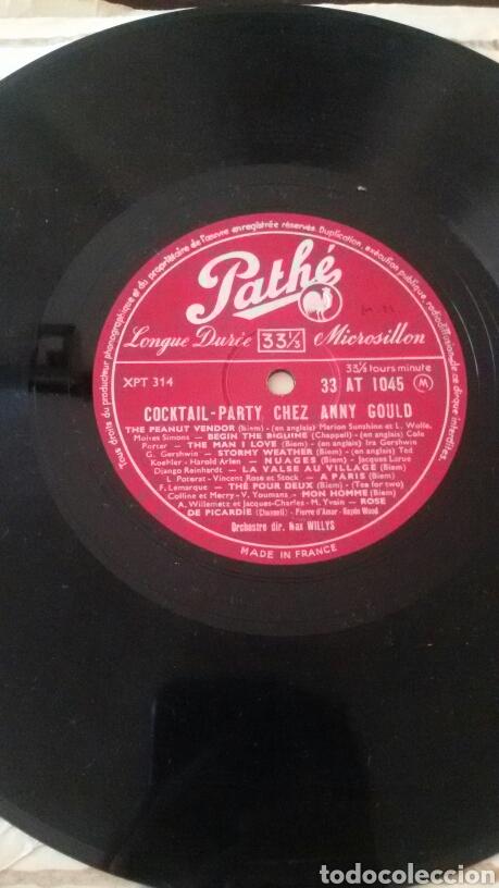 Discos de vinilo: ANNY GOULD. COCKTAIL PARTY CHEZ. LP PATHÉ, FRANCE. - Foto 4 - 130167998