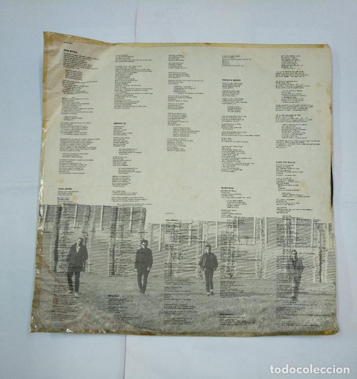 Discos de vinilo: ITOIZ - ESPALOIAN. LP. TDKDA18 - Foto 2 - 130168359