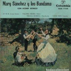 Dischi in vinile: MARY SANCHEZ Y LOS BANDAMA - AY SI SI - 7 EP R@RO DE VINILO . Lote 130168871