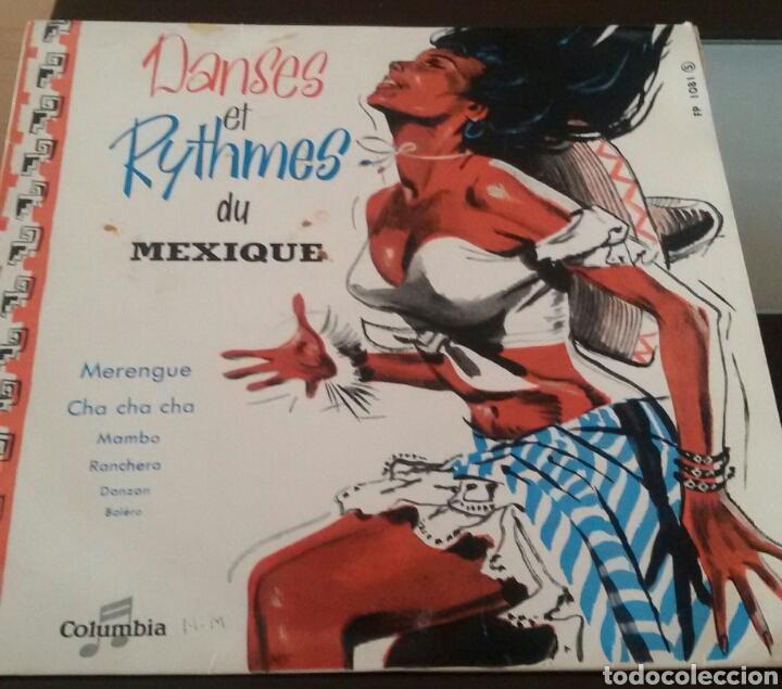 DANSES ET RYTHMES DU MEXIQUE. LP, COLUMBIA, FRANCE. (Música - Discos - LP Vinilo - Canción Francesa e Italiana)