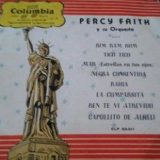 Discos de vinilo: PERCY FAITH Y SU ORQUESTA. LP, COLUMBIA.. Lote 130173295