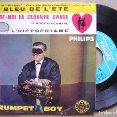 Discos de vinilo: TRUMPET BOY - LE ROCK DU CANARD - EP FRANCES 1962 - PHILIPS. Lote 130182979