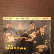 Discos de vinilo: THE SHADOWS – GUITAR TANGO LABEL: LA VOZ DE SU AMO – 7 EPL 13.850. Lote 130186403