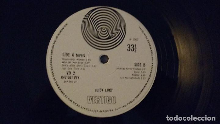 Discos de vinilo: ALBUM DE LA BANDA BRITANICA DE BLUES Y HARD ROCK JUICY LUCY - Foto 3 - 130194311