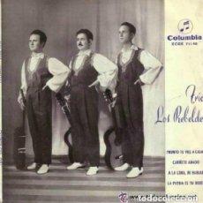 Discos de vinilo: TRIO LOS REBELDES PRONTO TE VAS A CASAR/CARIÑITO AMADO/A LA LUNA NI HABLAR..+1 - EP COLUMBIA 1962. Lote 130196319