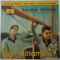 Discos de vinilo: EP - DUO DINAMICO - BALADA GITANA/NOCHE EN MOSCU/BABY TWIST/DINAMIC MADISON. Lote 130200187