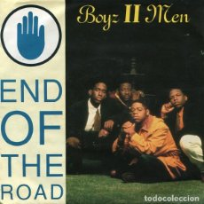 Discos de vinilo: BOYZ II MEN ?– END OF THE ROAD .- SINGLE MOTOWN EUROPE 1992 HIP HOP. Lote 130202955