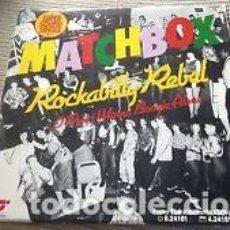 Discos de vinilo: MATCHBOX - ROCKABILLY REBEL - MAXI ALEMANIA MAGNET 79 - ROCKABILLY. Lote 130211279