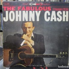 Discos de vinilo: JOHNNY CASH - THE FABULOUS JOHNNY CASH (LP, ALBUM)USA. Lote 130212383