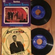 Discos de vinilo: LOTE 2 DISCOS RUMBAS. Lote 130216607