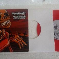 Discos de vinilo: DISCO DE VINILO SIMPLE FROMTHEASHES/NASHGUL / SPLIT EP GRIND CORE. Lote 130229171