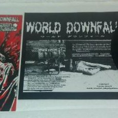 Discos de vinilo: DISCO DE VINILO SIMPLE NASHGUL WORLD DOWNFALL / POWER IT UP. Lote 130230718
