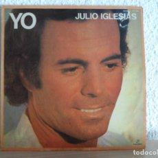 Discos de vinilo: *** JULIO IGLESIAS - YO - LP 1982 - LEER DESCRIPCIÓN. Lote 130234746