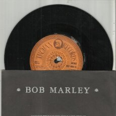 Discos de vinilo: BOB MARLEY SINGLE THANK YOU LORD - WISDOM. TROJAN INGLATERRA 1981. Lote 130246730