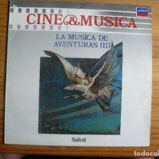 Discos de vinilo: CINE Y MUSICA: LA MÚSICA DE AVENTURAS 2. Lote 130246870