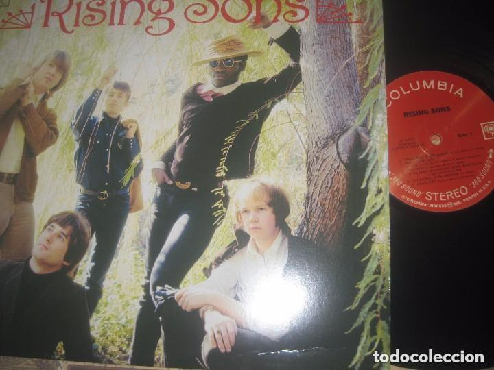 RISING SONS TAJ MAHAL RY COODER (SUNDACED 2001) EXCELENTE CONDICION (Música - Discos - LP Vinilo - Pop - Rock Extranjero de los 50 y 60)
