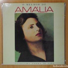 Discos de vinilo: AMALIA - O MELHOR DE AMALIA (ESTRANHA FORMA DE VIDA) - GATEFOLD - 2 LP. Lote 130254294