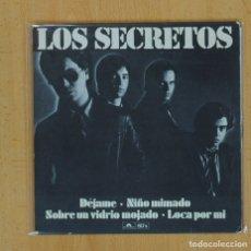 Discos de vinilo: LOS SECRETOS - DEJAME + 3 - EP. Lote 130254686
